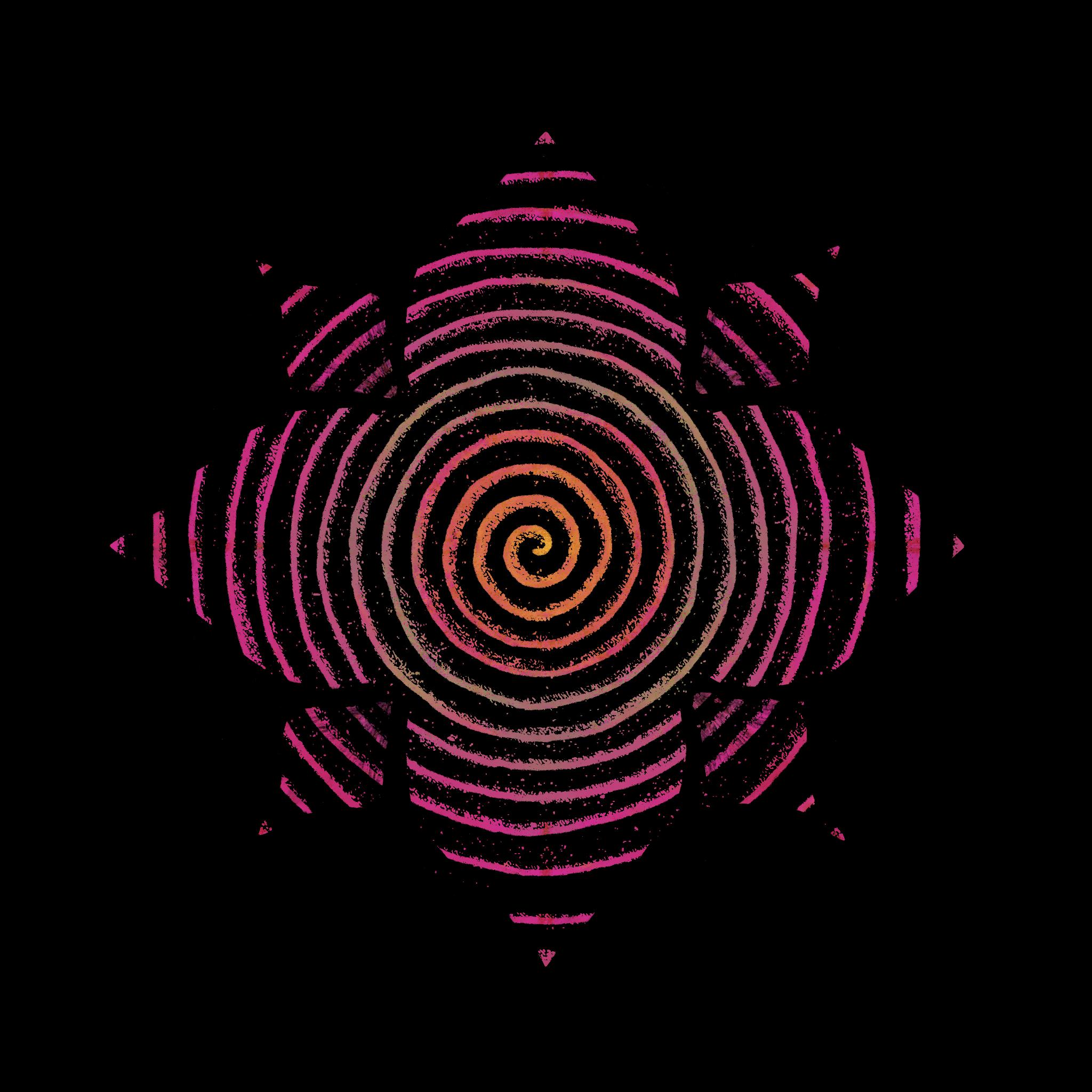 Desert Flower Spiral