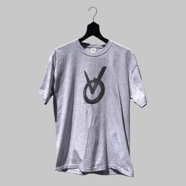 Viceode Logo T-Shirt-1-Grey